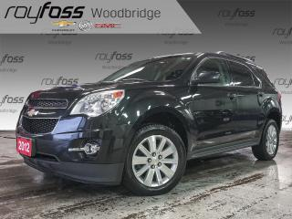 Used 2012 Chevrolet Equinox 1LT HEATED SEATS, BACKUP CAM for sale in Woodbridge, ON