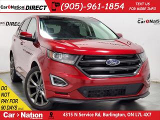 Used 2016 Ford Edge Sport| PANO ROOF| NAVI| LEATHER| AWD| for sale in Burlington, ON