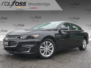 Used 2018 Chevrolet Malibu LT BACKUP CAM, ALLOY RIMS for sale in Woodbridge, ON