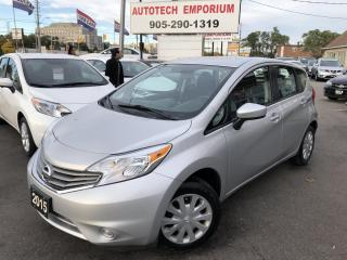 Used 2015 Nissan Versa Note SV Automatic Backup Camera/Bluetooth/Cruise&GPS* for sale in Mississauga, ON