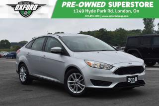 Used 2018 Ford Focus SE - One Owner, Like New, Bluetooth, Backup for sale in London, ON