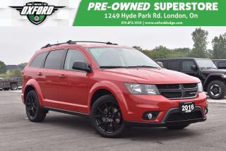 Used 2016 Dodge Journey SXT/Limited - Low Kms, Clean, Remote Start for sale in London, ON