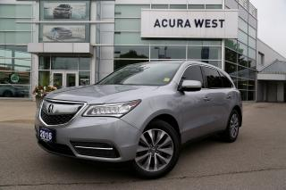 Used 2016 Acura MDX Navigation SOLD for sale in London, ON