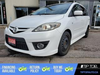 Used 2008 Mazda MAZDA5 GS ** Clean CarFax, 3rd Row Seating, Sliding Doors for sale in Bowmanville, ON