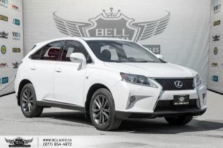 Used 2015 Lexus RX 350 F Sport, AWD, NO ACCIDENT, NAVI, BACK-UP CAM, SUNROOF, SOLD for sale in Toronto, ON