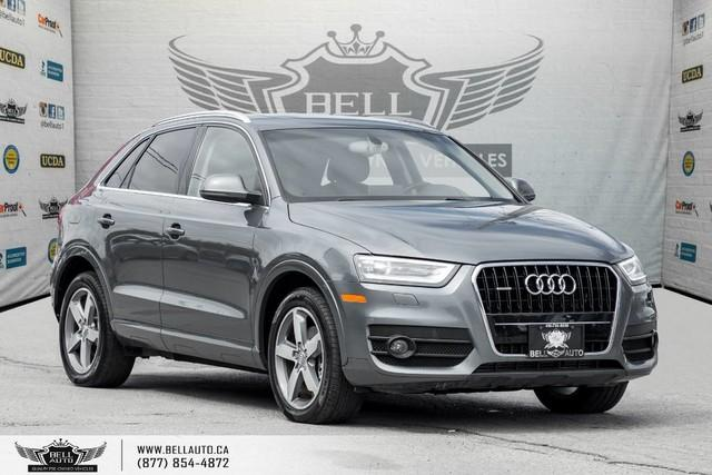 2015 Audi Q3 Progressiv, AWD, NO ACCIDENT, PANO ROOF, KEY-LESS ENTRY