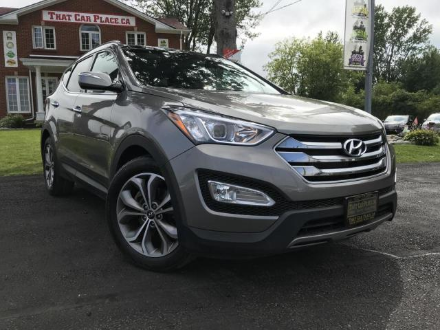 2015 Hyundai Santa Fe Sport 2.0T Nav-Back Up Camera-Heated Seats-Cooled / Air Conditioned Seats-Sunroof-Leather-AWD-Alloy wheels-Heated wheel-Power driver seat-Power Liftgate-Power windows-Steering wheel audio controls-Sun blinds