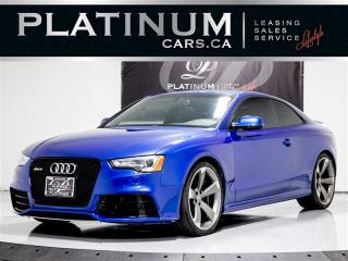 Used 2013 Audi RS 5 440HP AWD, R-TRONIC, NAVIGATION, CAMERA for sale in Toronto, ON