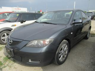 Used 2009 Mazda MAZDA3 GS | ALLOY RIMS | GOOD TIRES! for sale in Brampton, ON