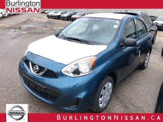 Used 2019 Nissan Micra S for sale in Burlington, ON