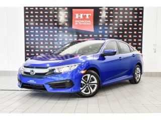 Used 2017 Honda Civic LX bas kilo certifié for sale in Terrebonne, QC