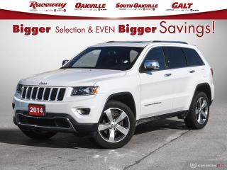 Used 2014 Jeep Grand Cherokee Limited , Prem Leather Trimmed Bucket Seats,Pwr 8? for sale in Etobicoke, ON