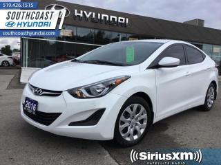 Used 2016 Hyundai Elantra GL  - Heated Seats - $91 B/W for sale in Simcoe, ON