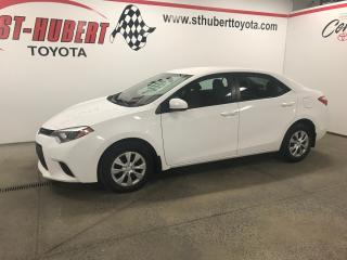 Used 2015 Toyota Corolla 2015 Toyota Corolla, Air Climatisé for sale in St-Hubert, QC