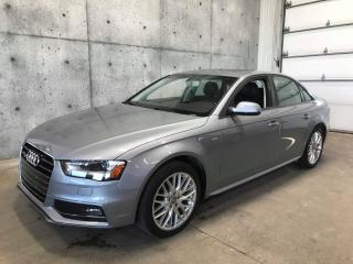Used 2015 Audi A4 KOMFORT PLUS S-LINE QUATTRO AUTOMATIQUE AWD for sale in St-Nicolas, QC