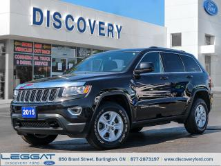 Used 2015 Jeep Grand Cherokee Laredo for sale in Burlington, ON