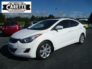 Used 2013 Hyundai Elantra Limited for sale in East broughton, QC