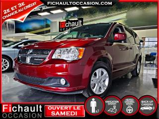 Used 2018 Dodge Grand Caravan Crew Plus*** NAV*** CUIR*** for sale in Châteauguay, QC