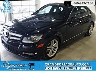 Used 2012 Mercedes-Benz C-Class 4dr Sdn C 250 4MATIC for sale in Rivière-Du-Loup, QC