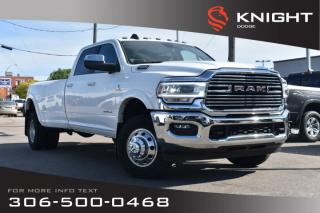 Used 2019 RAM 3500 Laramie | Remote Start | Heated Seats & Steering Wheel | Bluetooth | for sale in Swift Current, SK