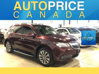 Used 2016 Acura MDX Navigation Package TECHNIK|NAVIGATION|LEATHER for sale in Mississauga, ON