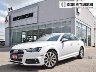 Used 2018 Audi A4 2.0T Komfort quattro 7sp S tronic for sale in Mississauga, ON