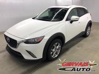 Used 2018 Mazda CX-3 GS Luxe AWD MAGS CUIR TOIT CAMÉRA DE RECUL GPS for sale in Trois-Rivières, QC