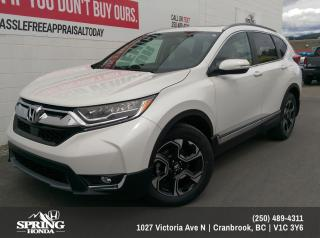 Used 2019 Honda CR-V Touring $262 BI-WEEKLY - $0 DOWN for sale in Cranbrook, BC