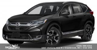 Used 2019 Honda CR-V Touring $260 BI-WEEKLY - $0 DOWN for sale in Cranbrook, BC