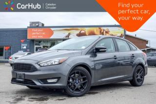Used 2018 Ford Focus SEL|Navi|Sunroof|Bluetooth|Backup Cam|Heated Front Seats|Keyless Entry|17