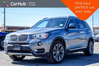 Used 2017 BMW X3 xDrive28i|Navi|Pano Sunroof|Backup Cam|Bluetooth|Heated Seats|19