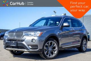 Used 2017 BMW X3 xDrive28i|Navi|Pano Sunroof|Backup Cam|Bluetooth|Heated Seats|19