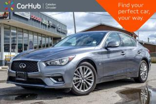 Used 2018 Infiniti Q50 2.0t LUXE|AWD|Sunroof|Bluetooth|Backup Cam|Leather|Heated Front Seats|18