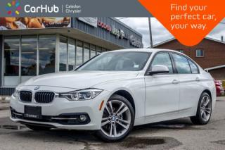 Used 2018 BMW 3 Series 330i xDrive|Navi|Bluetooth|Backup Cam|Heated Front Seats|Leather|Push Start|18
