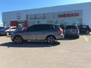 Used 2018 Nissan Pathfinder Platinum V6 4x4 at for sale in Smiths Falls, ON