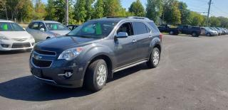 Used 2010 Chevrolet Equinox LTZ for sale in Madoc, ON