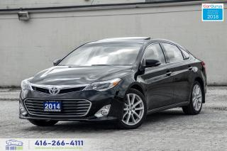 Used 2014 Toyota Avalon Limited Navi*RCam 1Owner Certified WeFinance Clean for sale in Bolton, ON