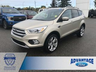 Used 2017 Ford Escape Titanium Voice Activated Navigation - Remote Start for sale in Calgary, AB