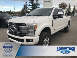 Used 2018 Ford F-350 Platinum Clean Carfax - One Owner for sale in Calgary, AB