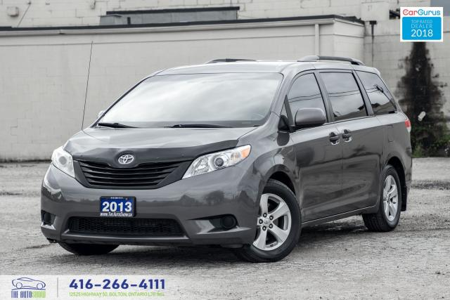 2013 Toyota Sienna SERVICED CERTIFIED CLEAN FINANCING TINTED SPOILER