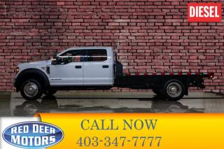 Used 2018 Ford F-550 4x4 Crew Cab XLT Deck Diesel for sale in Red Deer, AB