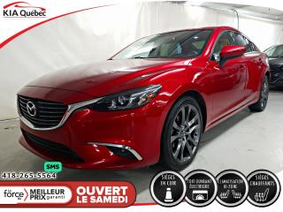 Used 2016 Mazda MAZDA6 GT* GPS* CUIR* TOIT* CAMERA* for sale in Québec, QC