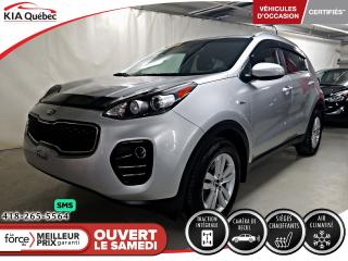 Used 2017 Kia Sportage LX* AWD* CAMERA* SIEGES CHAUFFANTS* for sale in Québec, QC