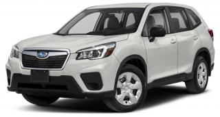 Used 2019 Subaru Forester 2.5i Convenience THE COMPLETELY REDESIGNED 2019 FORESTER IS A IIHS TOP SAFETY PICK FOR ALL LIFE'S RALLIES! for sale in Charlottetown, PE
