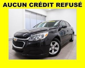 Used 2015 Chevrolet Malibu LS BLUETOOTH *100% APPROUVÉ* for sale in St-Jérôme, QC