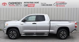 Used 2015 Toyota Tundra SR5 V8 5.7L, GR. TRD OFF ROAD 4X4 for sale in Laval, QC