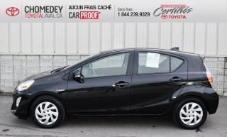 Used 2015 Toyota Prius c AUTOMATIQUE, CERTIFIÉ TOYOTA, SEULEMENT 49 260KM for sale in Laval, QC