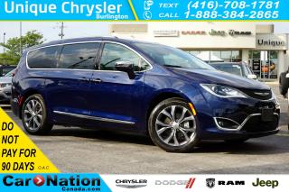 Used 2019 Chrysler Pacifica LIMITED| FULLY FULLY LOADED| NOT A RENTAL| for sale in Burlington, ON