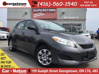 Used 2014 Toyota Matrix ONLY 75, 356KM | POWER GROUP | BLUE TOOTH|AUTO|A/C for sale in Georgetown, ON