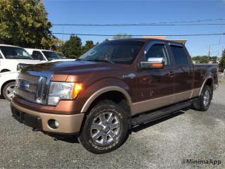 Used 2011 Ford F-150 King Ranch, 4x4 Full for sale in Drummondville, QC